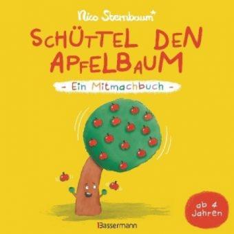 Schüttel den Apfelbaum - Ein Mitmachbuch. Für Kinder von 2 bis 4 Jahren